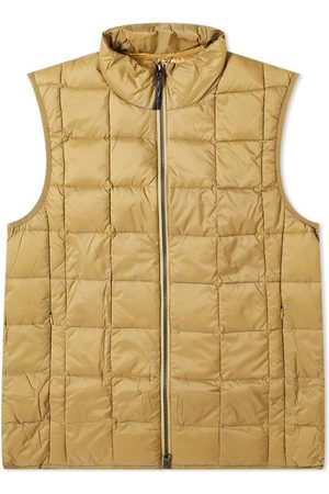TAION High Neck Zip Down Vest
