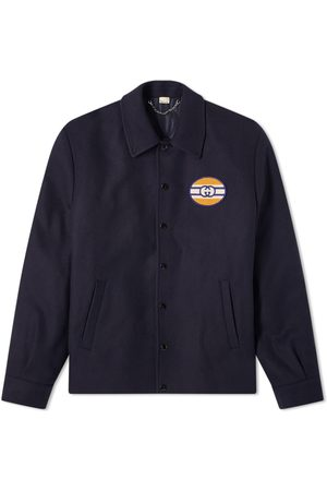 Gucci Jersey Patch Logo Coach Jacket