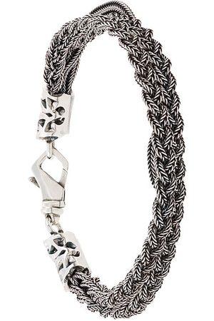 EMANUELE BICOCCHI Men Bracelets - Braided chain bracelet