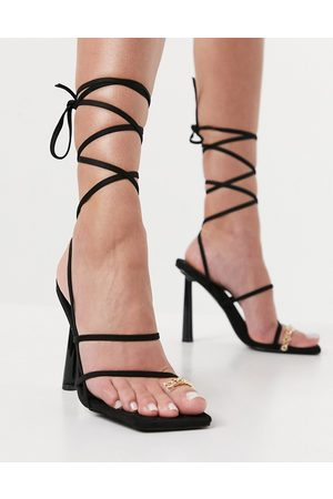 SIMMI Shoes Simmi London Baylee heeled sandals with toe ring detail in