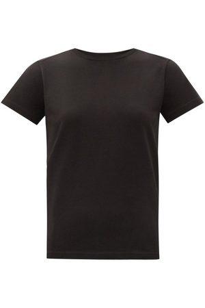 Moncler Women T-shirts - Logo-print Cotton-jersey T-shirt - Womens