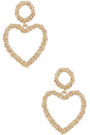 Ettika Women Earrings - Heart Drop Earrings in .