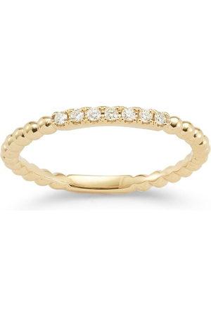 Dana Rebecca Designs 18kt yellow and diamond Poppy Rae ring