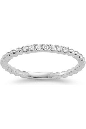 Dana Rebecca Designs 18kt white gold and diamond Poppy Rae ring
