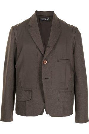 UNDERCOVER Men Blazers - Deconstructed single-breasted blazer