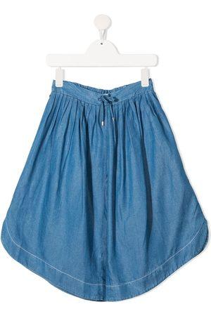 Chloé Chambray wide-leg culottes