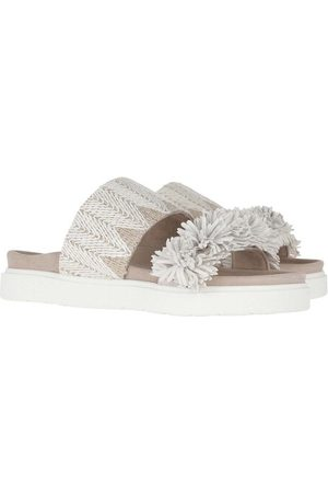 INUIKII Loafers & Ballet Pumps - Raffia Sandals - - Loafers & Ballet Pumps for ladies