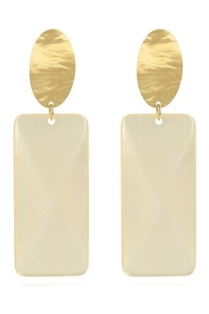 LOTT. gioielli Earrings - Resin Rectangle L - - Earrings for ladies