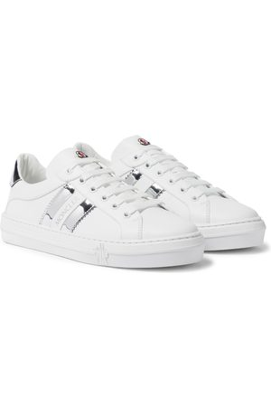 Moncler Ariel leather sneakers