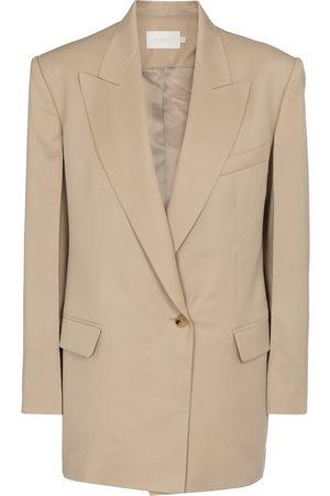 Low Classic Women Blazers - Single-breasted wool blazer