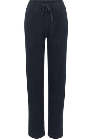 Loro Piana High-rise cotton trackpants