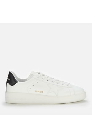Golden Goose Men's Pure Star Leather Chunky Trainers