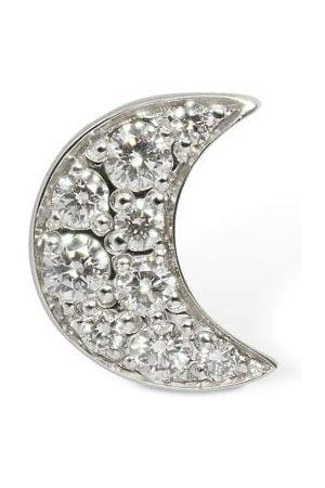 DODO 18kt Luna Stud Mono Earring W/ Diamond