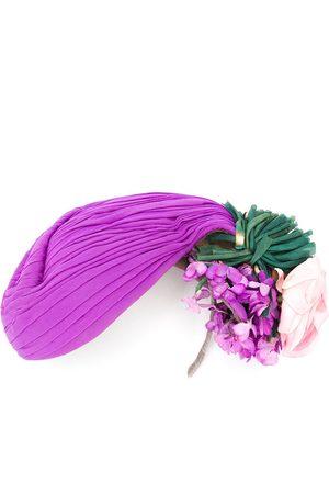 A.N.G.E.L.O. Vintage Cult Women Hats - 1940s floral detail hat