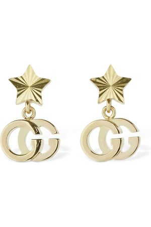 Gucci 18kt Gg Running Star Earrings