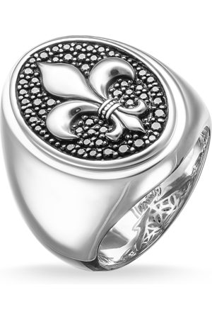 Thomas Sabo Rings - Signet ring bourbon lily TR1803-051-11-50