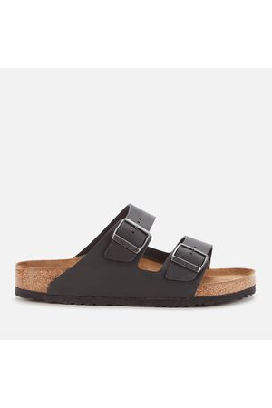 Birkenstock Men Sandals - Men's Arizona Oiled Leather Double Strap Sandals