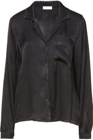 ANINE BING Woman Satin-jacquard Shirt Size L