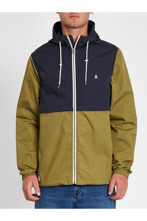 Volcom Men Coats - Men's Howard Hooded Jacket - Navy