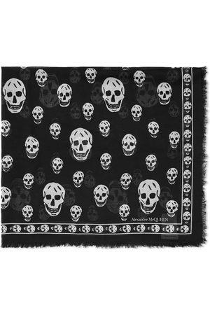 Alexander McQueen Men Scarves - Skull Pashmina Scarf