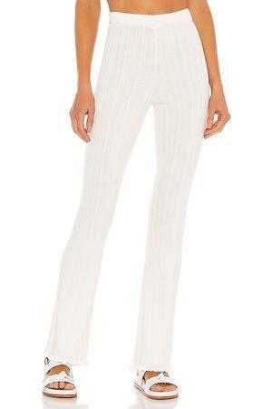 Tularosa Women Trousers - Variegated Rib Pant in . Size M, S, XL, XS, XXS.