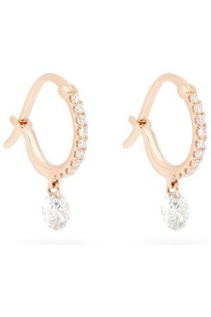 Raphaele Canot Set Free Diamond & 18kt Rose Earrings - Womens - Rose