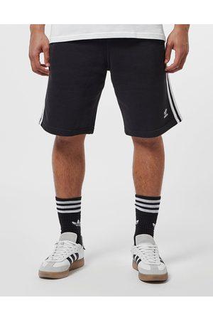 adidas Men Fleece Jackets - Men's 3-Stripes Fleece Shorts