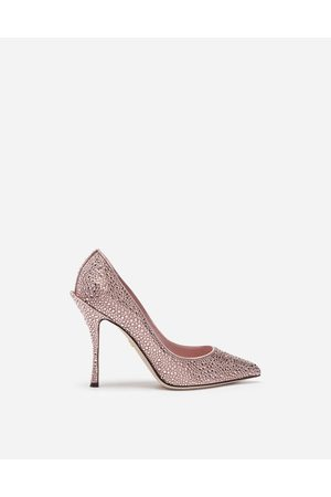 Dolce & Gabbana Women Heels - Pumps - PUMPS IN SATIN AND CRYSTAL female 41