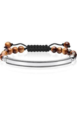Thomas Sabo Bracelet brown brown LBA0130-329-2-L24V