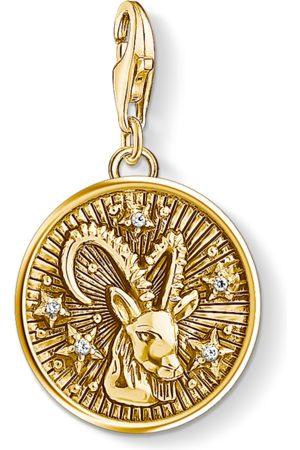 Thomas Sabo Necklaces - Charm pendant zodiac sign Capricorn coloured 1661-414-39