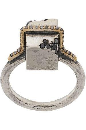Tobias Wistisen Men Rings - Block Stones embellished ring