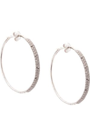 Mattia Cielo Embellished hoop earrings