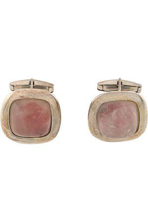 Gianfranco Ferré Pre-Owned Men Cufflinks - 2000s rose quartz cufflinks