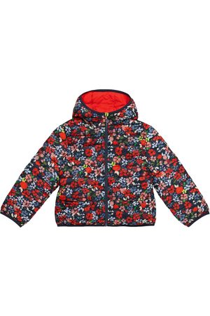 BONPOINT Girls Coats - Satina reversible floral puffer jacket