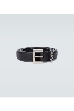 Saint Laurent YSL leather belt