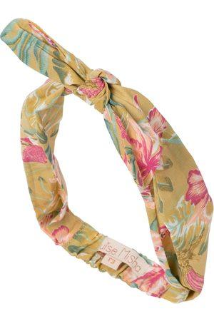 Louise Misha Girls Headbands - Cally floral cotton headband