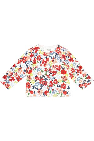 BONPOINT Baby floral cotton cardigan