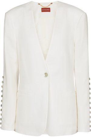 Altuzarra Fern linen-blend blazer