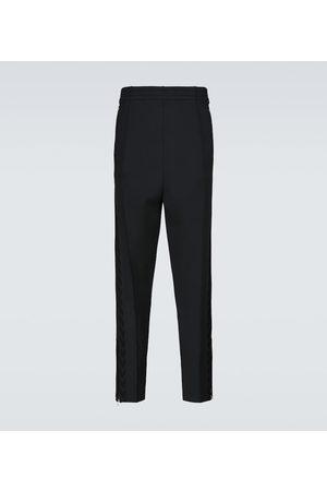 Bottega Veneta Men Trousers - Technical zipped pants