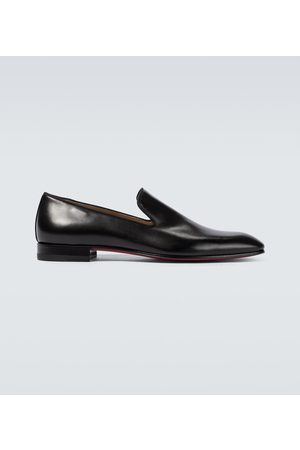 Christian Louboutin Men Loafers - Dandelion leather loafers