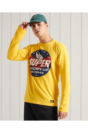 Superdry Men Short Sleeve - Boho Graphic Long Sleeve T-Shirt