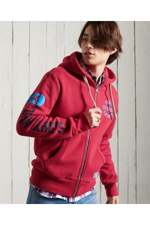 Superdry Men Hoodies - Track & Field Graphic Zip Hoodie