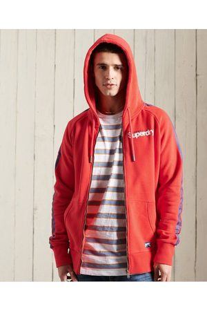 Superdry Men Hoodies - Core Logo Cali Raglan Zip Hoodie