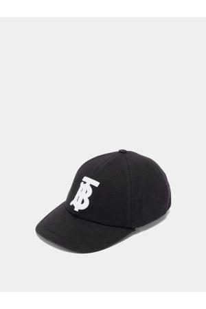 Burberry Men Hats - Logo-embroidered Cotton-canvas Baseball Cap - Mens