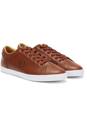 Fred Perry Baseline Leather Mens Trainers