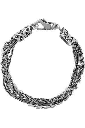 EMANUELE BICOCCHI Braid and chain bracelet