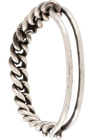 WERKSTATT:MÜNCHEN Men Bracelets - Asymmetric chain bracelet
