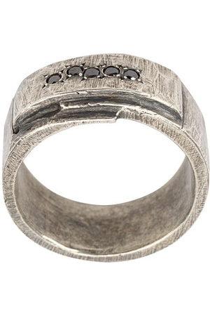 TOBIAS WISTISEN Folded Stones ring