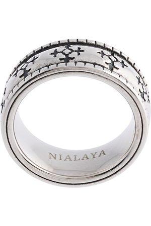 Nialaya Enameled ring