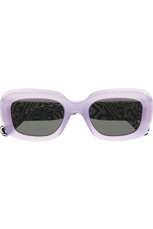 Retrosuperfuture Sunglasses - Zebra print Virgo sunglasses